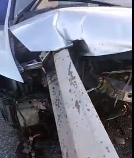 VIDEO: Accidente increíble en RD... se salvo de chepa